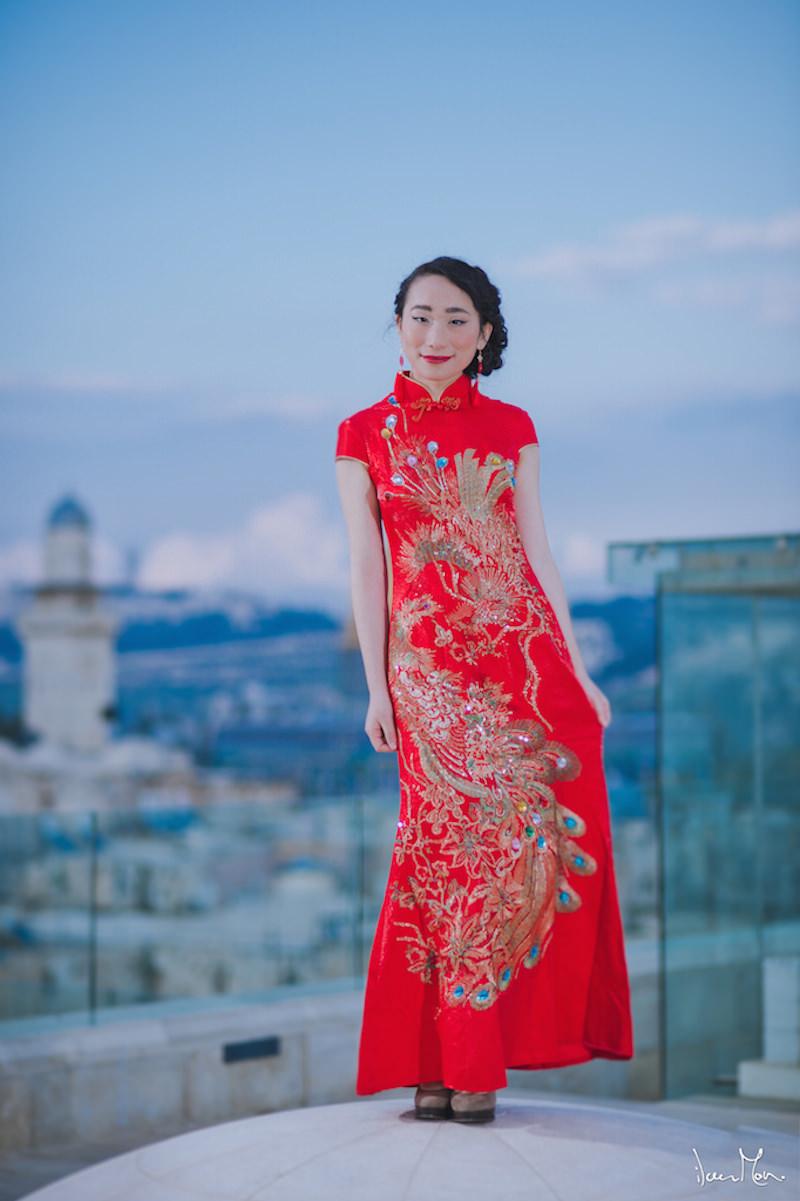 עיצוב שיער ואיפור סיני מסורתי